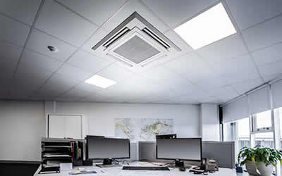 office shop retail air conditioning